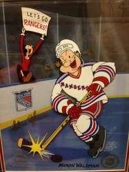 New York Rangers - Popeye