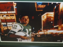 NY Jets Joe Namath <br> Signed 16x20 Photo