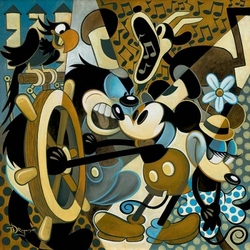 """Of Mice and Music"" Canvas"