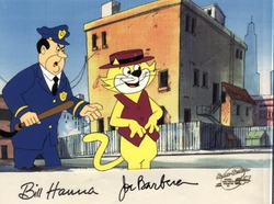 Officer Dibble & Top Cat