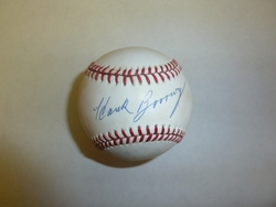 Official American League Baseball <br> Signed By Hank Borowy