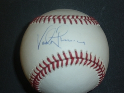 Official National League Baseball <br> Signed By Vada Pinson