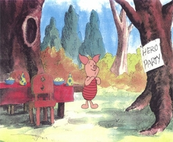 Piglet from Winnie the Pooh<br><font color=red>Please Call