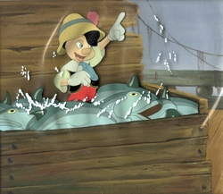Pinocchio with Fish