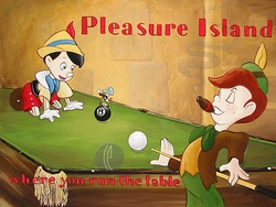Pleasure Island from Pinocchio