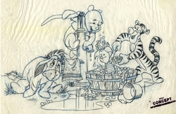 Pooh and Friends Washing