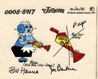 Rosie Original Prod. Cel signed - The Jetsons