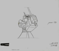 Samurai Jack #2130 - Production Drawings