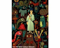 "Samurai Jack ""Monster Stack"" Canvas - Samurai Jack"