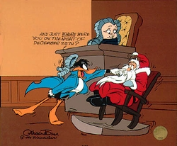 Santa On Trial  Daffy Lawyer