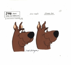 Scooby Doo Model Cel
