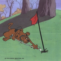 Scooby Doo Playing Golf #1 - Golf