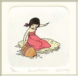 Shanti Small <br>Color Etching