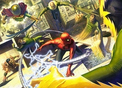 """Sinister Six"" by Alex Ross"