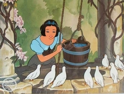 Snow White at the Well Sericel