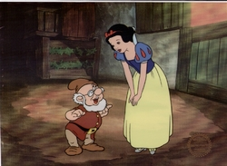 Snow White & Doc Sericel