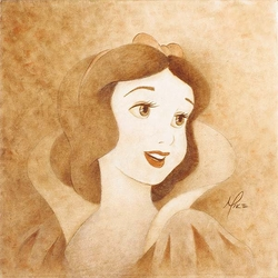 Snow White <br>Portrait Canvas