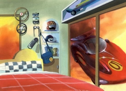 Speed Racer Background