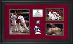 St. Louis Cardinals <br>3 Photograph Collage