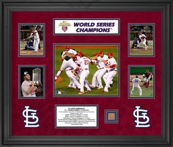 St. Louis Cardinals<br> 5 Photograph Collage
