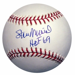 Stan Musial MLB Baseball <br>with HOF Inscription