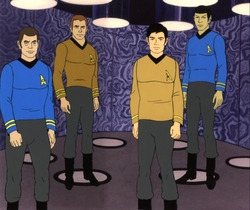 Star Trek Hand Painted Model Cel