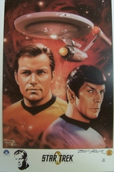 Star Trek Litho