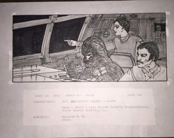 "Star Wars ""The Empire Strikes Back"" (1980) Original Story Board"