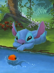 Stitch & His Friend