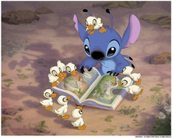 Stitch's Storytime Canvas