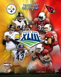 Super Bowl XLIII Collage