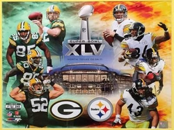 Super Bowl XLV Collage