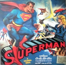 Superman 1948 Original Poster