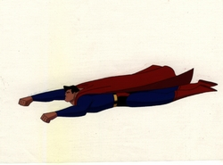 Superman Flying OPC