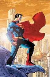 Superman For Tomorrow <br> by Jim Lee - Canvas