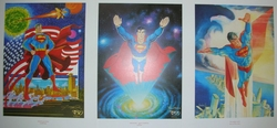 Superman Litho