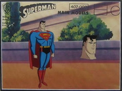 SUPERMAN Model Cel