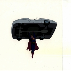 Superman With <br>Car OPC