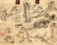 Sylvester Model Sheet Drawing - Production Drawings