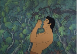 Tarzan Production Cel #1