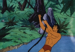 Tarzan Production Cel #9