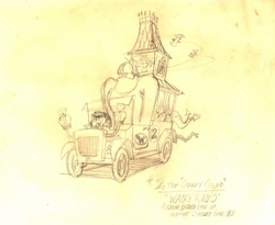 The Creepy Coupe from Wacky Races