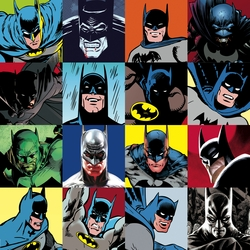 The Faces of Batman Paper