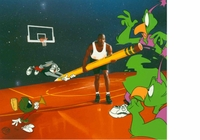 The Great Space Erase Signed by Michael Jordan AP - Limited Editions