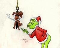 The Grinch with Max - Warner Bros. By Virgil Ross