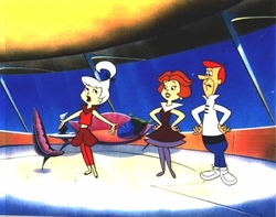 The Jetsons at Home Original Production Cel