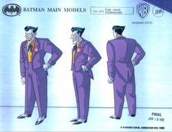 The Joker model cel