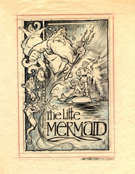 The Little Mermaid Original Poster Design