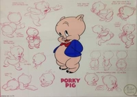THE MODEL SERIES - PORKY PIG - Limited Editions