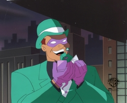 The Riddler  with toy OPC